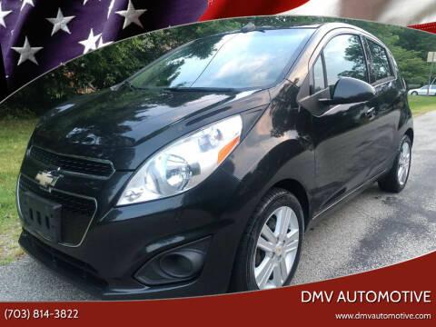 2013 Chevrolet Spark for sale at DMV Automotive in Falls Church VA