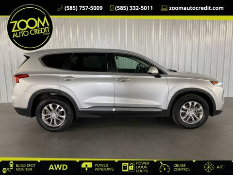 2019 Hyundai Santa Fe for sale at ZoomAutoCredit.com in Elba NY