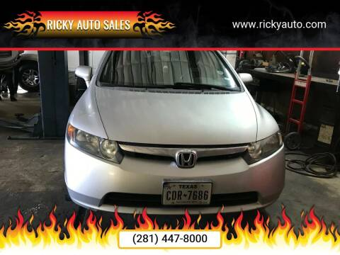 2006 Honda Civic for sale at Ricky Auto Sales in Houston TX