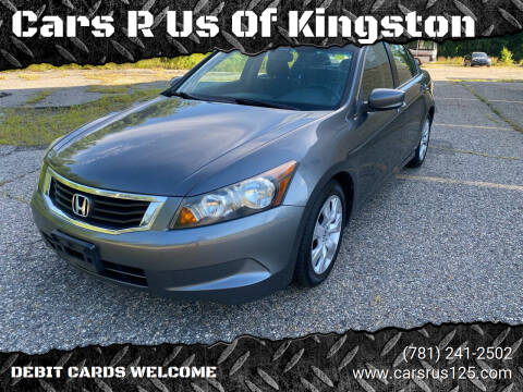 2009 Honda Accord for sale at Cars R Us Of Kingston in Kingston NH