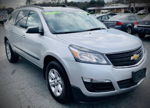 2013 Chevrolet Traverse for sale at RD Motors, Inc in Charlotte NC