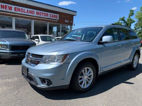 2013 Dodge Journey for sale at New England Motor Cars in Springfield MA