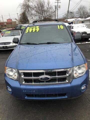 2010 Ford Escape for sale at Mastro Motors in Garden City MI