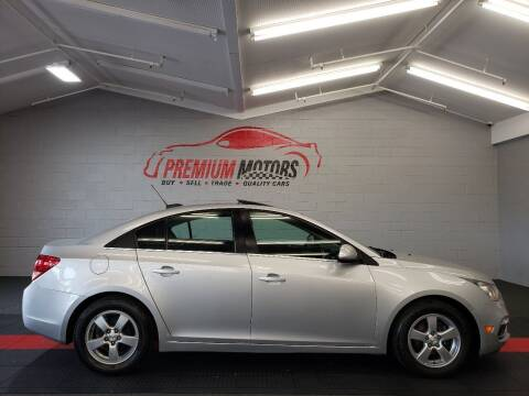 2015 Chevrolet Cruze for sale at Premium Motors in Villa Park IL