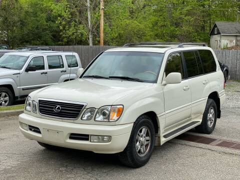 2002 Lexus LX 470 for sale at AMA Auto Sales LLC in Ringwood NJ