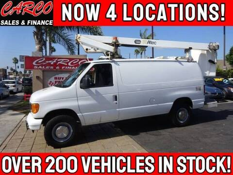 2006 Ford E-Series Cargo for sale at CARCO SALES & FINANCE #2 in Chula Vista CA