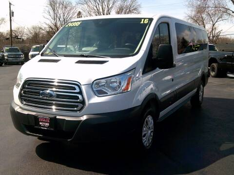 2016 Ford Transit Passenger for sale at Stoltz Motors in Troy OH