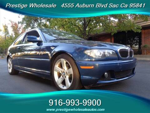2004 BMW 3 Series for sale at Prestige Wholesale in Sacramento CA