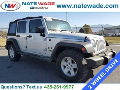 2007 Jeep Wrangler Unlimited for sale at NATE WADE SUBARU in Salt Lake City UT