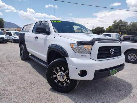 2007 Toyota Tundra for sale at Canyon View Auto Sales in Cedar City UT
