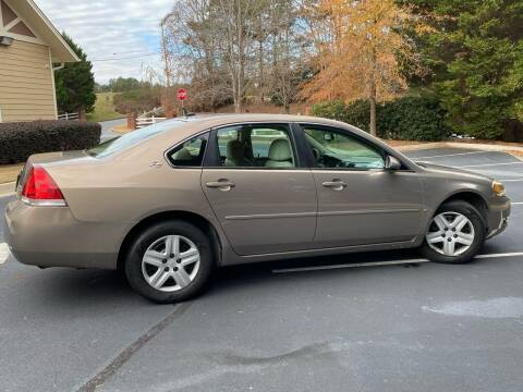 2006 Chevrolet Impala for sale at Paramount Autosport in Kennesaw GA