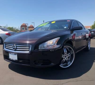 2014 Nissan Maxima for sale at LUGO AUTO GROUP in Sacramento CA
