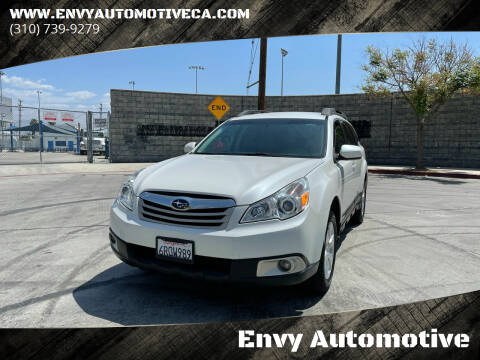 2011 Subaru Outback for sale at Envy Automotive in Studio City CA