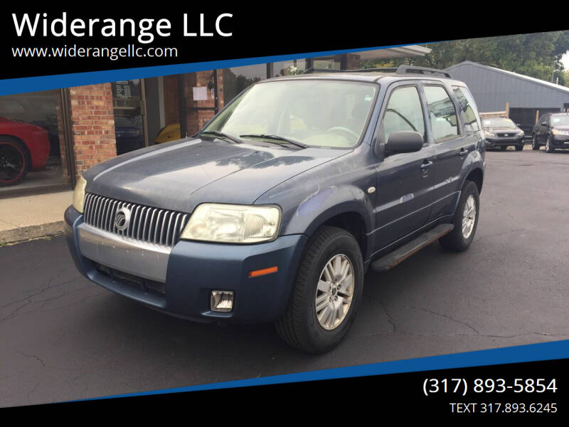 2005 Mercury Mariner for sale at Widerange LLC in Greenwood IN