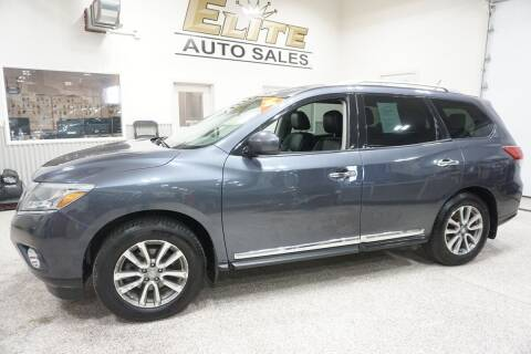 2014 Nissan Pathfinder for sale at Elite Auto Sales in Ammon ID