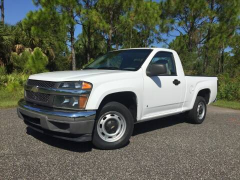 2007 Chevrolet Colorado for sale at VICTORY LANE AUTO SALES in Port Richey FL