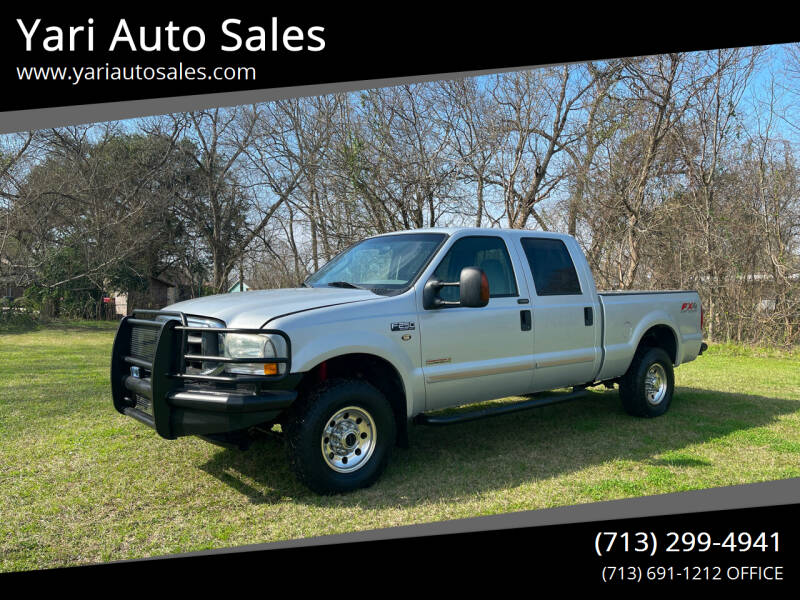 2004 Ford F-250 Super Duty for sale at Yari Auto Sales in Houston TX