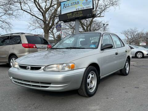 2000 Toyota Corolla for sale at All Star Auto Sales and Service LLC in Allentown PA