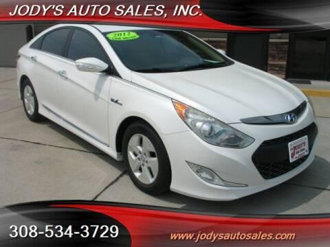 2012 Hyundai Sonata Hybrid for sale at Jody's Auto Sales in North Platte NE