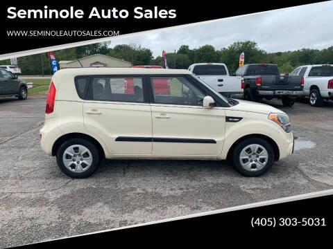 2012 Kia Soul for sale at Seminole Auto Sales in Seminole OK