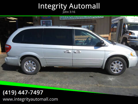 2006 Chrysler Town and Country for sale at Integrity Automall in Tiffin OH