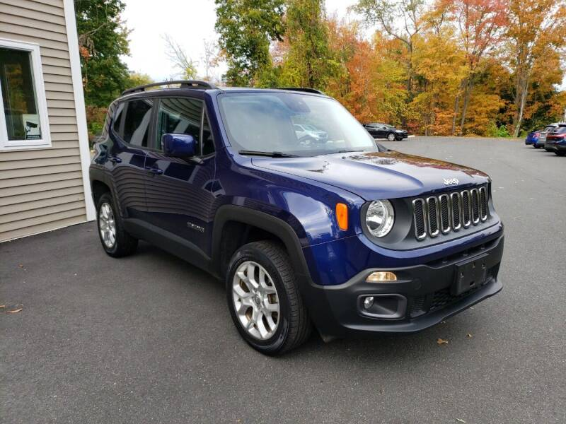 2016 Jeep Renegade for sale at KLC AUTO SALES in Agawam MA