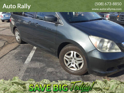 2005 Honda Odyssey for sale at Auto Rally in Fall River MA