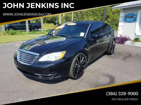 2014 Chrysler 200 for sale at JOHN JENKINS INC in Palatka FL