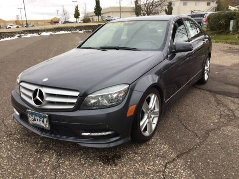 2011 Mercedes-Benz C-Class for sale at Sparkle Auto Sales in Maplewood MN