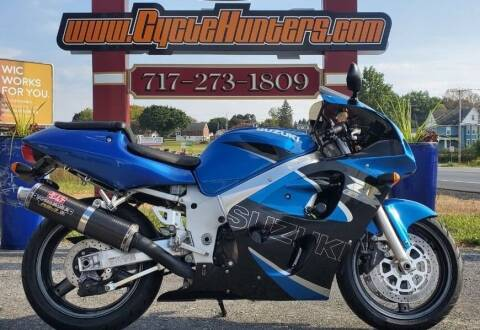 2000 Suzuki GSX-R600 for sale at Haldeman Auto in Lebanon PA