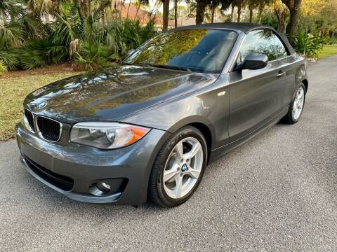 2013 BMW 1 Series for sale at DENMARK AUTO BROKERS in Riviera Beach FL