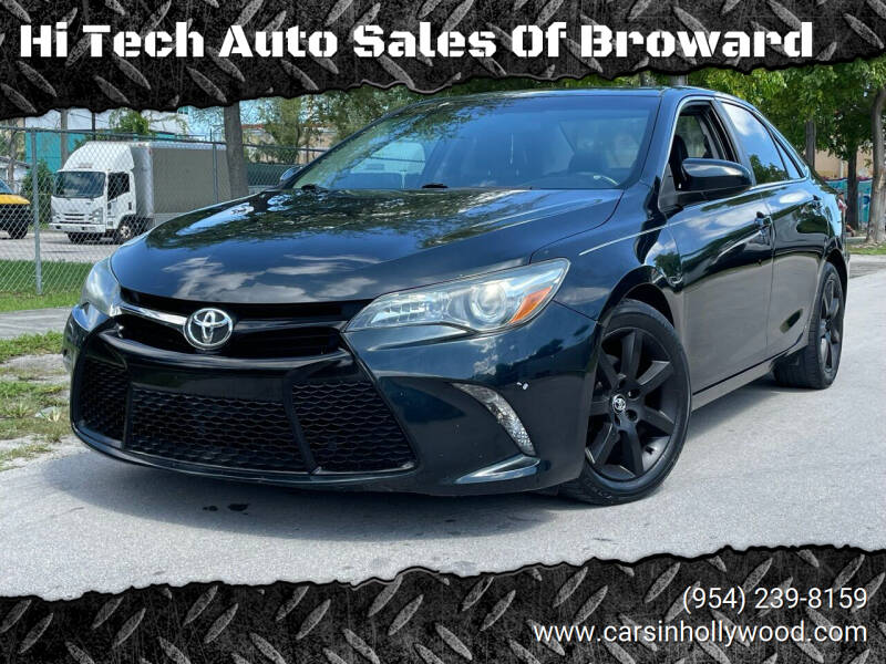 2015 Toyota Camry for sale at Hi Tech Auto Sales Of Broward in Hollywood FL
