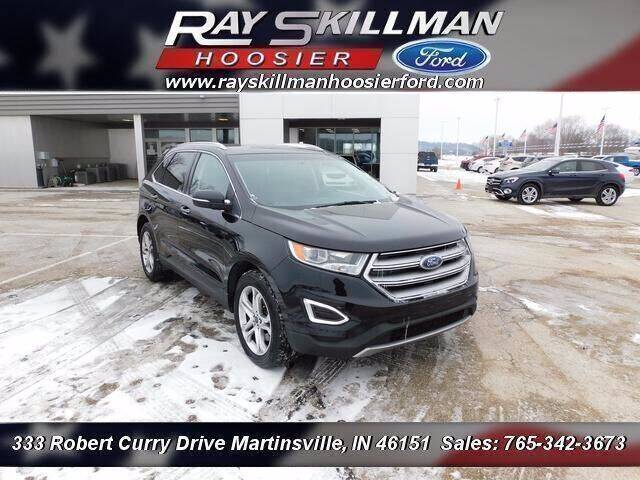 2016 Ford Edge for sale at Ray Skillman Hoosier Ford in Martinsville IN