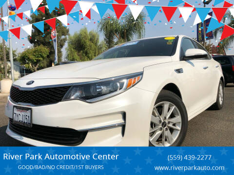 2016 Kia Optima for sale at River Park Automotive Center in Fresno CA