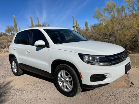 2014 Volkswagen Tiguan for sale at Auto Executives in Tucson AZ