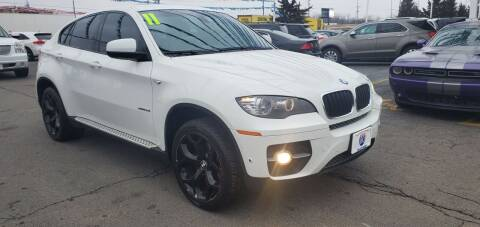 2011 BMW X6 for sale at I-80 Auto Sales in Hazel Crest IL