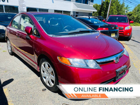 2007 Honda Civic for sale at BUENDIA AUTO GROUP in Hasbrouck Heights NJ