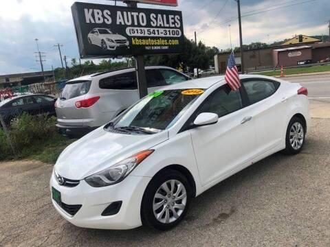 2012 Hyundai Elantra for sale at KBS Auto Sales in Cincinnati OH
