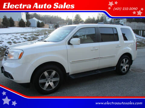 2012 Honda Pilot for sale at Electra Auto Sales in Johnston RI