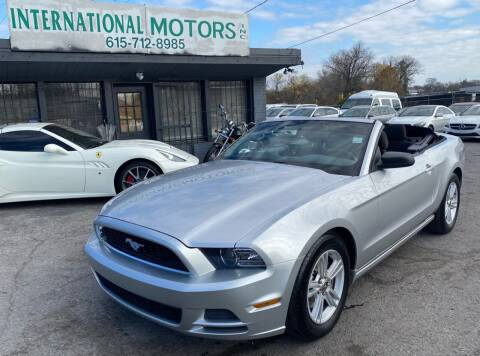 2014 Ford Mustang for sale at International Motors Inc. in Nashville TN