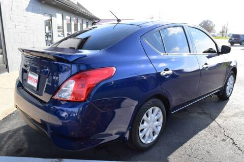 2018 Nissan Versa for sale at Heritage Automotive Sales in Columbus in Columbus IN