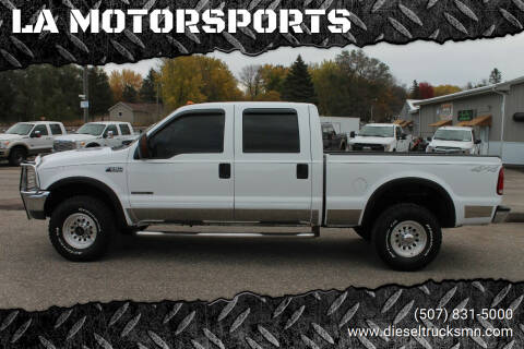 2001 Ford F-250 Super Duty for sale at LA MOTORSPORTS in Windom MN