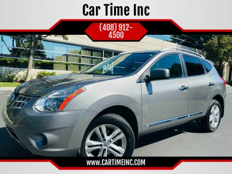 2012 Nissan Rogue for sale at Car Time Inc in San Jose CA