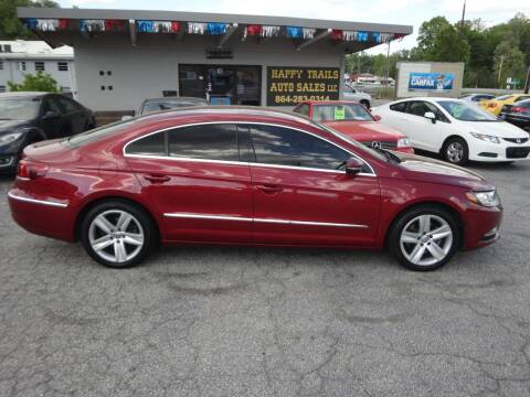 2014 Volkswagen CC for sale at HAPPY TRAILS AUTO SALES LLC in Taylors SC