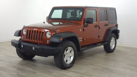 2014 Jeep Wrangler Unlimited for sale at TRAVERS GMT AUTO SALES - Traver GMT Auto Sales West in O Fallon MO