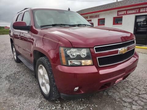2007 Chevrolet Tahoe for sale at Sarpy County Motors in Springfield NE