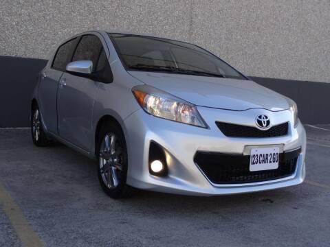 2013 Toyota Yaris for sale at 123 Car 2 Go LLC in Dallas TX