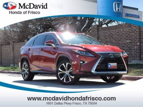 2019 Lexus RX 350 for sale at DAVID McDAVID HONDA OF IRVING in Irving TX