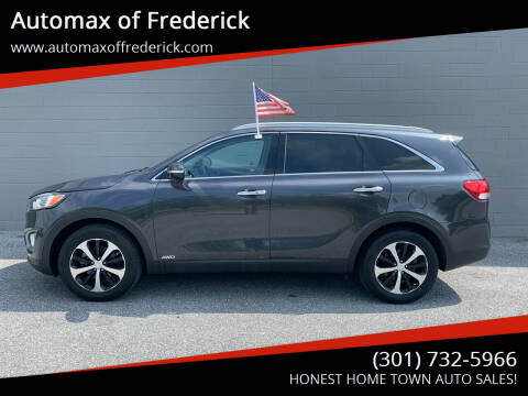 2016 Kia Sorento for sale at Automax of Frederick in Frederick MD