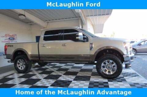 2017 Ford F-250 Super Duty for sale at McLaughlin Ford in Sumter SC